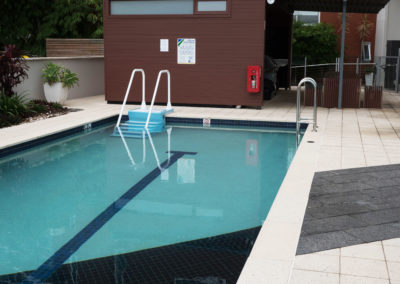ADA Easy Stair Installed in Private Commercial Pool