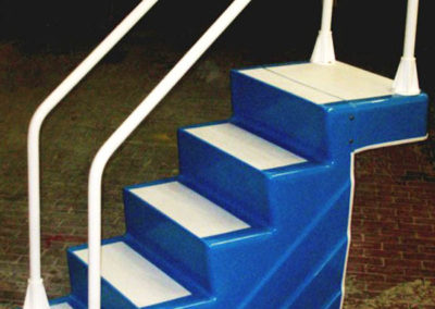 ADA Easy Stair in Medium Blue